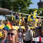 Panteres Grogues Pride Barcelona 2017