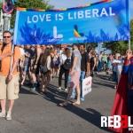 Love is liberal Pride Barcelona