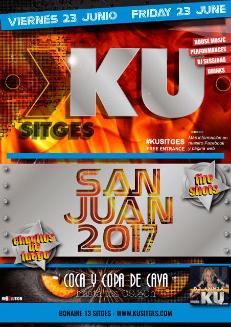 San Juan en KU Sitges